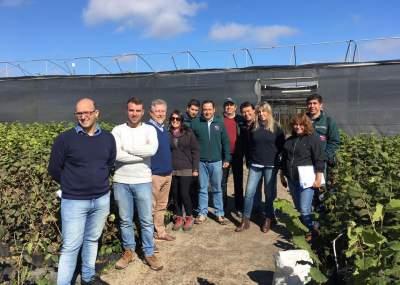 Especialistas argentinos visitan el maule por futura for Viveros en curico