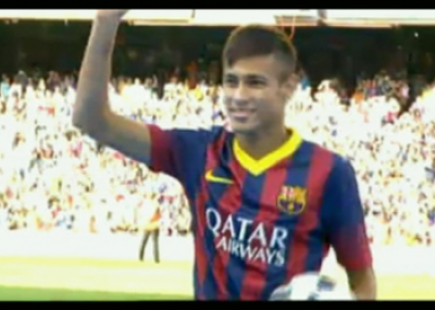 b5f8a2464d Delantero brasileño Neymar fue presentando como nuevo refuerzo del Barcelona