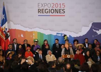 Expo 2015 Stand Enel : Veloso en expo regiones 2015 y las mejoras hospitalarias en el maule