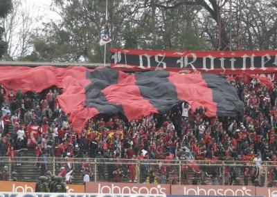 WCC A La Chilena 2012  Rangers_hinchada_1